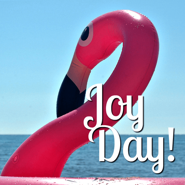 Because God has done great things we are filled with JOY on JoyDay! - AnExtraordinaryDay.net