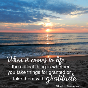 Gratitude Quote | Project Inspire{d} 193
