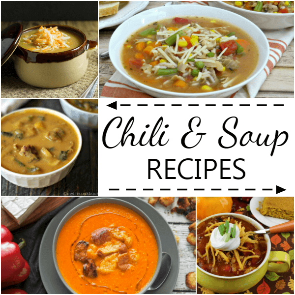 Chili and Soups Recipes to Warm You - AnExtraordinaryDay.net