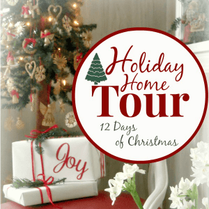 Christmas Tree ideas at the Holiday Home Tour - AnExtraordinaryDay.net