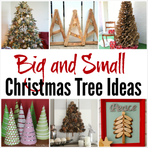 Get Inspired with 11 Big and Small Christmas Tree Ideas