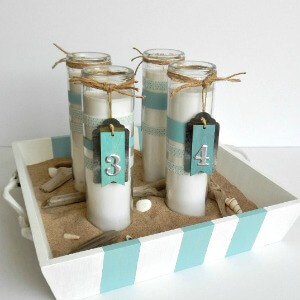 Make Coastal Advent Candles -- AnExtraordinaryDay.net