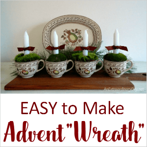 TUTORIAL for an EASY to Make Advent Wreath here... - AnExtraorinaryday.net