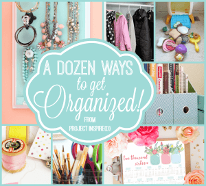 A Dozen Ways to Get Organized After the Holidays - AnExtraordianaryDay.net