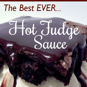 Truly the best ever hot fudge sauce - AnExtraordinaryDay.net