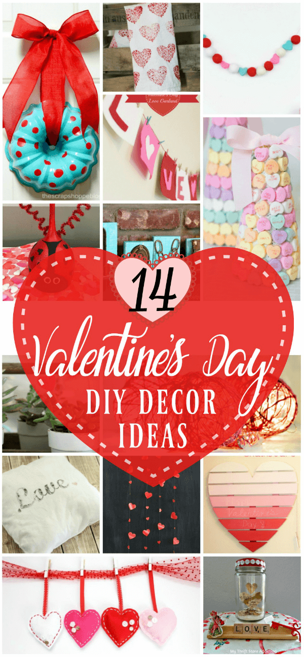 14 Terrific Ways to Make Valentine's Day Home Decor - AnExtraordinaryDay.net