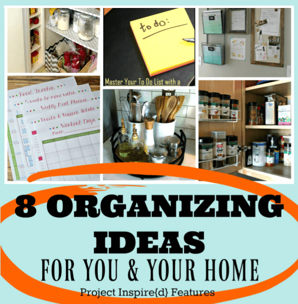 8 Terrific Ideas to Get You and Your Home Organized for the New Year