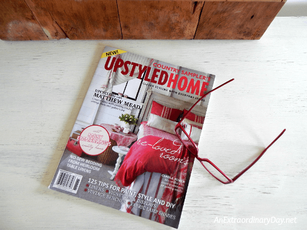 Country Sampler's UpstyledHome magazine by Matthew Mead