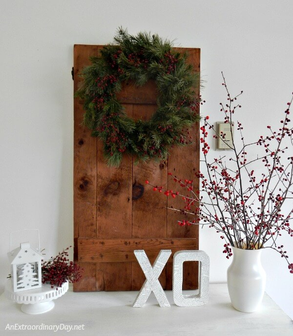 Trash to treasure rustic door transformation