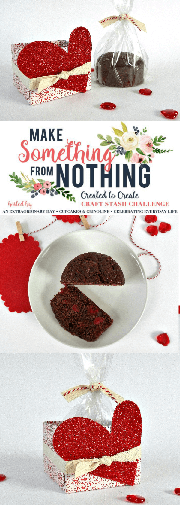 How to Bake & Package a Chocolate Valentine's Day Gift - Make Something from Nothing Valentine's Day Gift Challenge