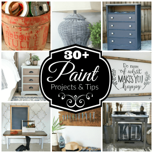 Be Inspired! 30 Practical Painting Projects for Your Weekend