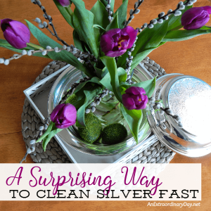 Accidental Life Hack :: How to Clean Silver with this Unexpected Household Item