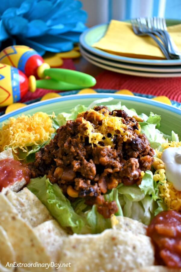 Put dinner on the table in 20 minutes with this amazing EASY taco beef meat recipe