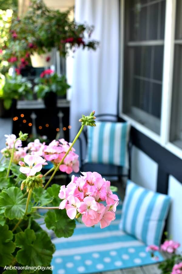 It's time to kick back and relax Small Space Decorating Ideas for a Balcony + Deck + Patio