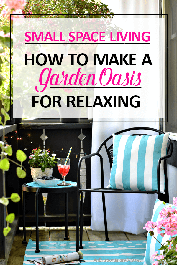 Turn a Tiny Plain Balcony into a Gorgeous Garden Oasis Small Space Gardening Apartment Living