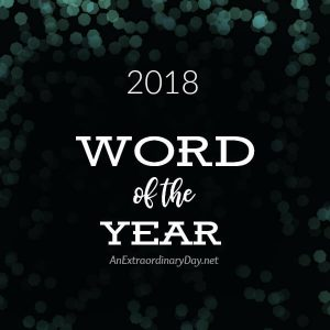 My Word of the Year and One Thing it Does for Me | JoyDay!