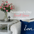 Valentine's Day Small Space French Country Decor Living Room - AnExtraordinaryDay.net