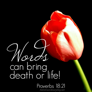 You'll never know how powerful your words are until… | It's JoyDay!