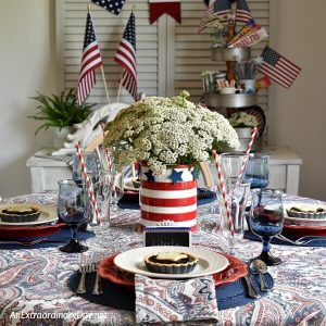How To Set A Simple But Stunning 4th Of July Table
